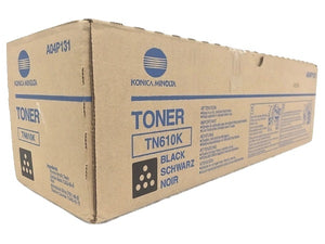 Konica Minolta A04P131 High Yield Black Toner Cartridge (TN-610K,TN610K)
