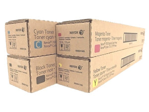 Xerox Toner Set 006R01383, 006R01384, 006R01385, 006R01386 for Digital Color Press 700,700i,770,C75,J75
