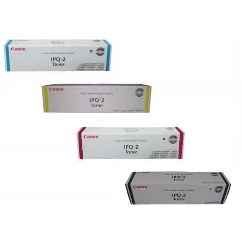 Canon imagePRESS (IPQ-2) C6000 C7000 Toner Cartridge Set Black, Cyan, Magenta, Yellow
