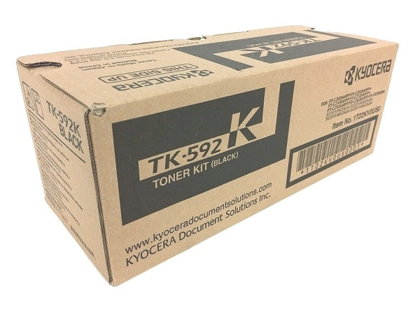 Kyocera TK-592K Black Toner Cartridge