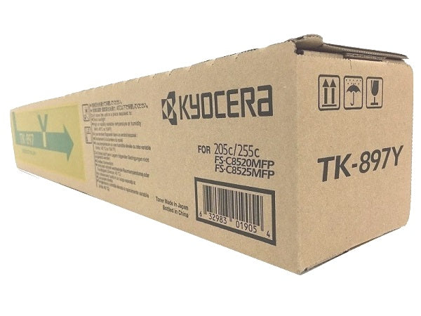 Kyocera TK-897Y Yellow Toner Cartridge (TK899Y)