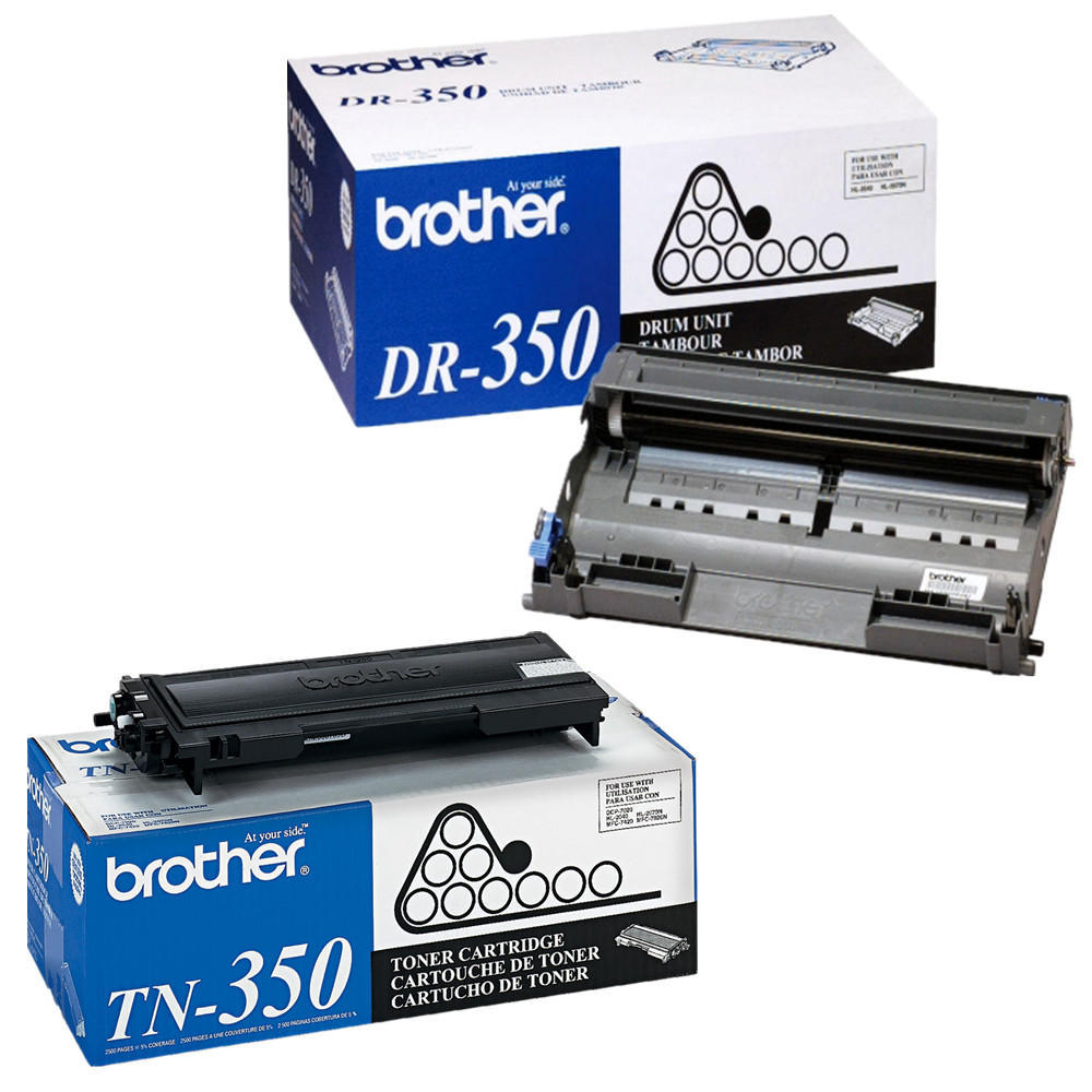 Brother TN-350 Standard Yield Black Toner Cartridge