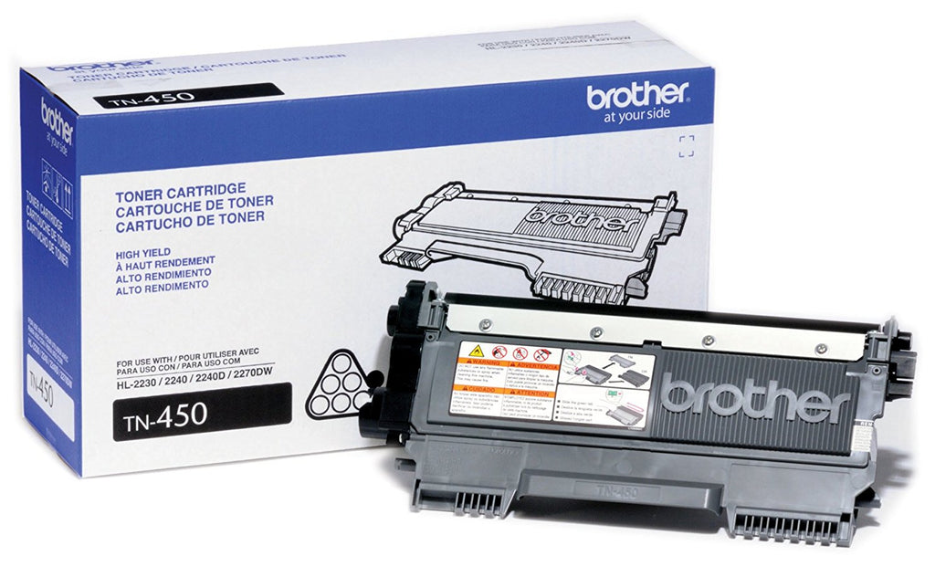 Brother (TN450, TN-450) High Yield Black Toner Cartridge