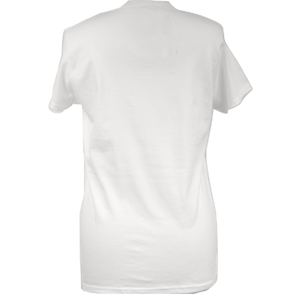 Limited Edition Swarovski® Crown White T-shirt - DISEGNO MIO