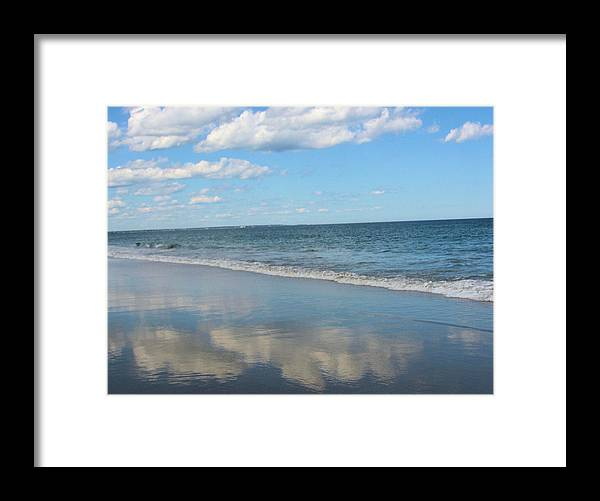Cloud Reflections - Framed Print