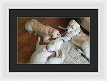 Load image into Gallery viewer, Dog Business - Framed Print
