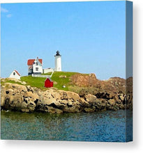 Load image into Gallery viewer, Maine Light House - Canvas Print