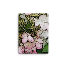 Load image into Gallery viewer, Hydrangea flower original art print on canvas