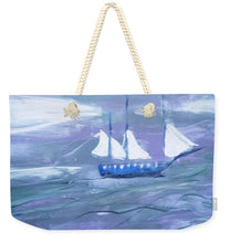 Load image into Gallery viewer, Sailing  - Weekender Tote Bag