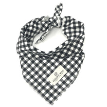 Gingham Oxford Dog Bandana