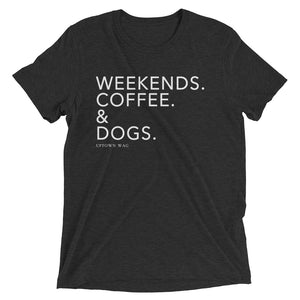 weekends coffee and dogs