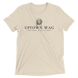 Uptown Wag Shirt, Kelsey Mundfrom, Dog Mom Apparel, Oatmeal