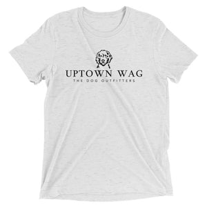 Uptown Wag Shirt, Kelsey Mundfrom, Dog Mom Apparel, White