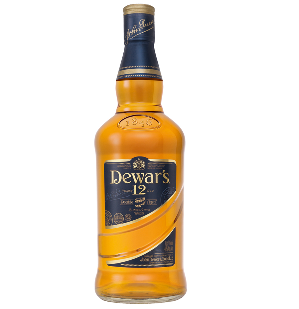 Dewar's 12 Year Double Aged Blended Scotch Whisky
