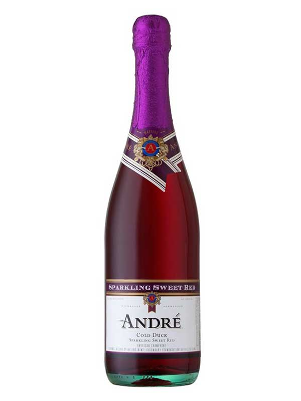 André Cold Duck Sparkling Sweet Red
