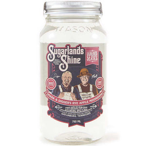 Sugarlands Shine Mark & Digger's Rye Apple Moonshine
