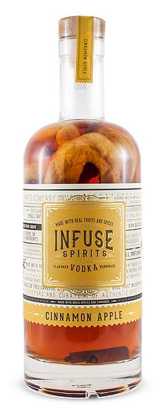 Infuse Spirits Cinnamon Apple Vodka