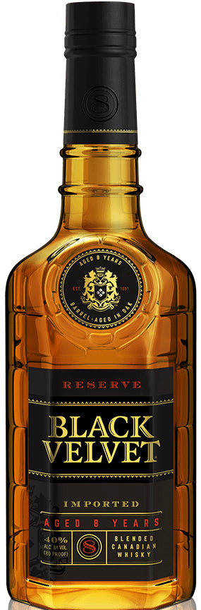 Black Velvet Blended Canadian Whisky Reserve