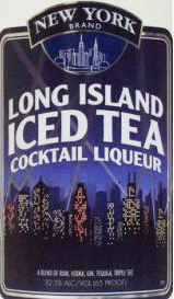New York Brand Long Island Iced Tea Cocktail Liqueur