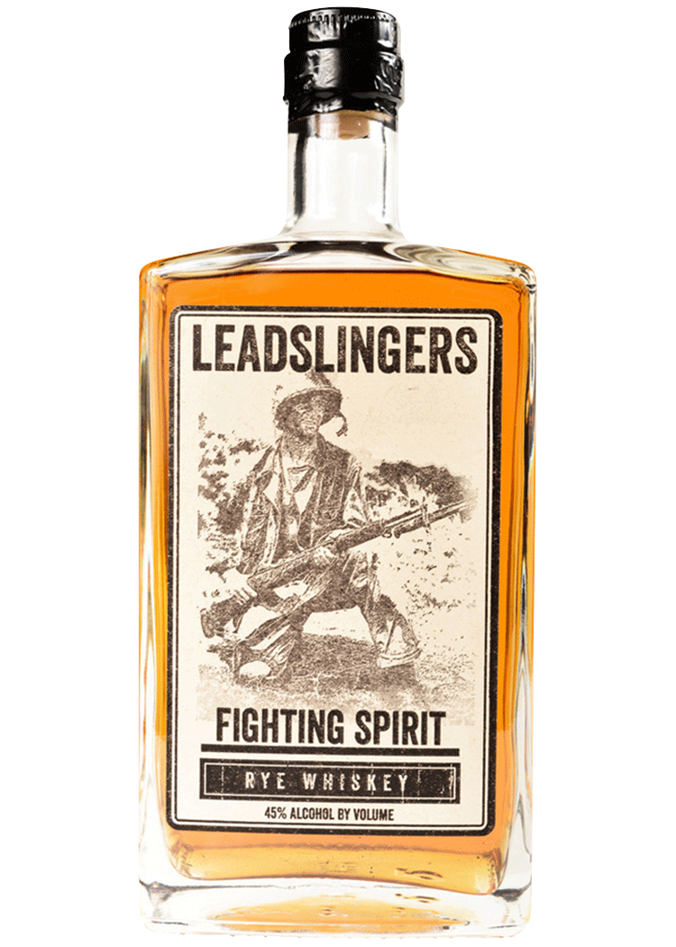 Leadslingers Fighting Spirit Rye Whiskey