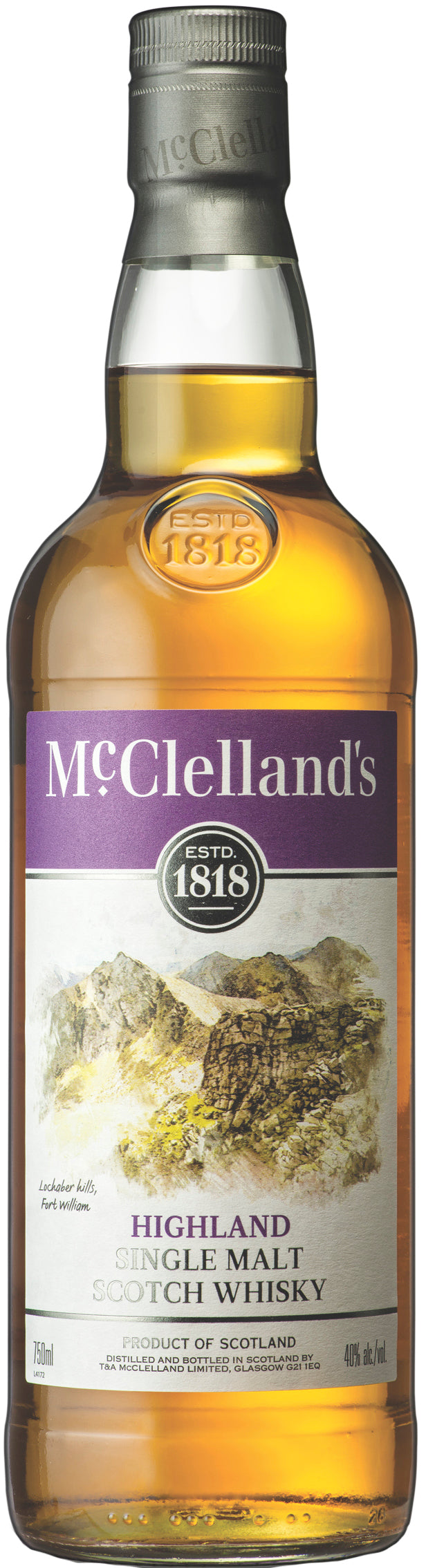 McClelland's Highland Single Malt Scotch Whisky