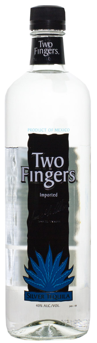 Two Fingers Silver Tequila