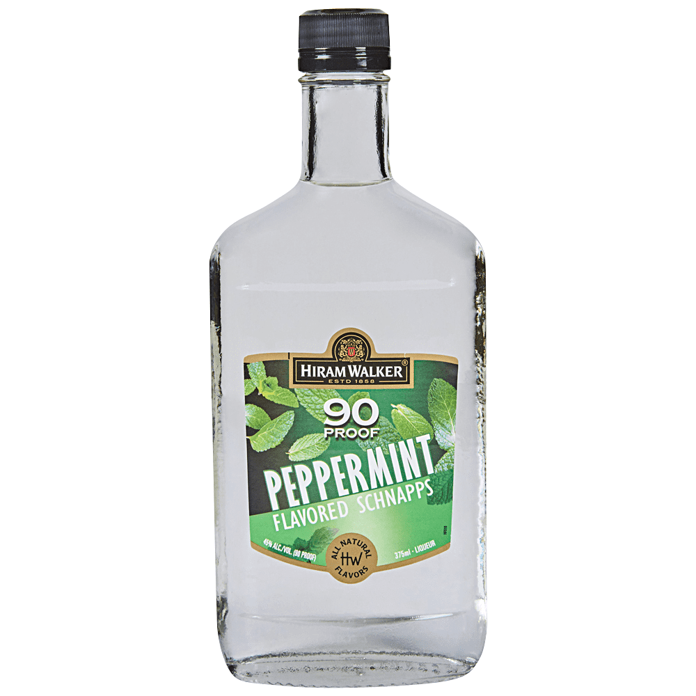Hiram Walker 90 Proof Peppermint Schnapps
