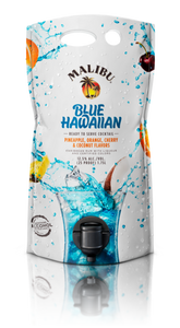 Malibu Blue Hawaiian Cocktail