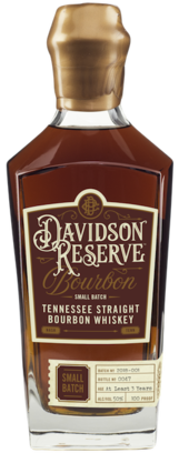 Davidson Reserve Tennessee Straight Bourbon Whiskey