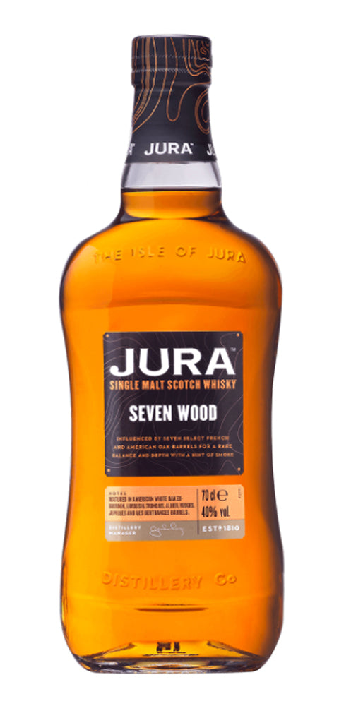 Jura Seven Wood Single Malt Scotch Whisky