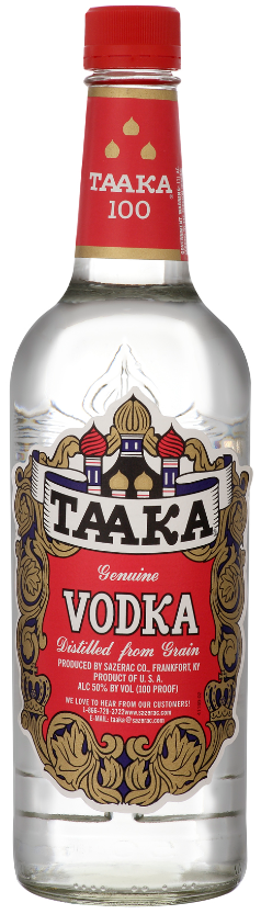 Taaka Red 100 Proof Vodka