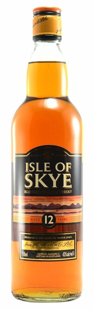 Isle of Skye 12 Year Old Blended Scotch Whisky