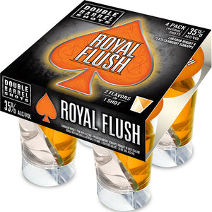 Double Barrel Royal Flush