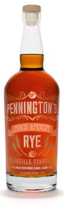 Pennington's Peach Apricot Rye Whiskey