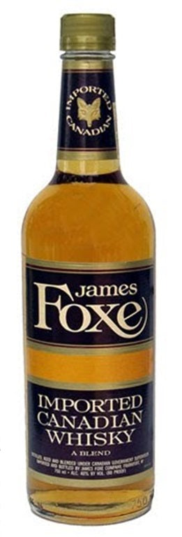 James Foxe Canadian Whisky