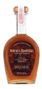 Bowman Brothers Small Batch Straight Bourbon Whiskey
