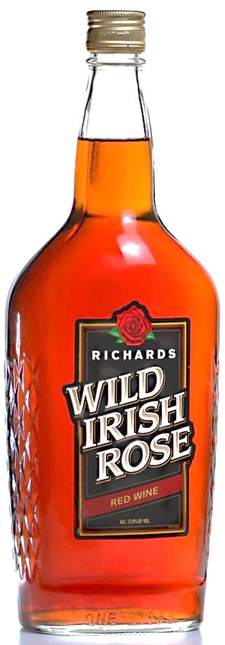 Richards Wild Irish Rose Red Wine 13.9%