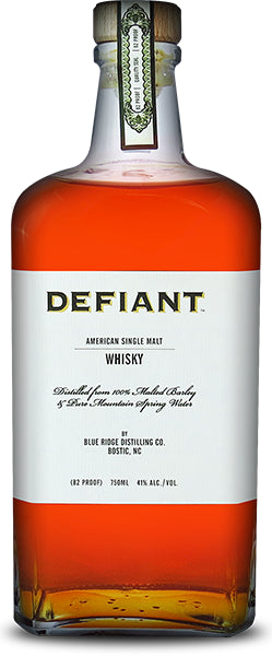 Defiant American Single Malt Whisky