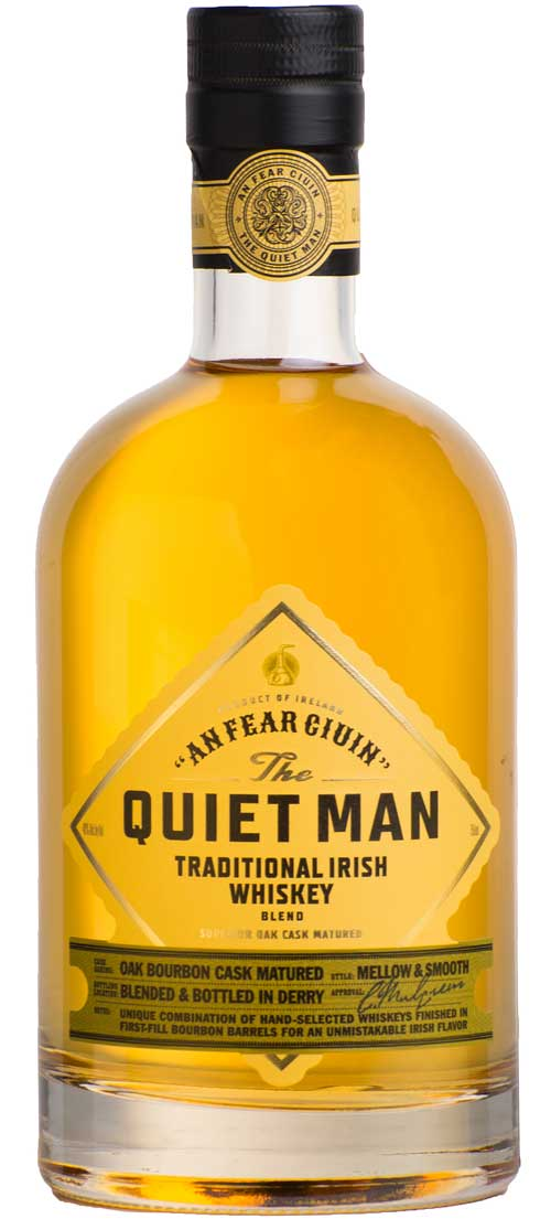 The Quiet Man Traditional Blended Irish Whiskey