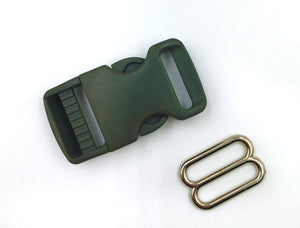Foliage Green Buckle