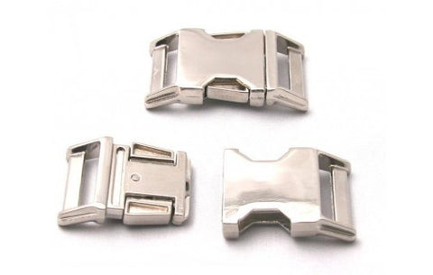 Silver Metal Buckle & Hardware