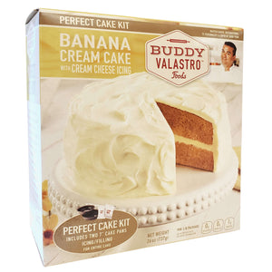 Banana Cream Cake Mix with Cream Cheese Icing Mix