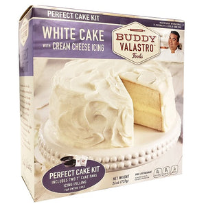 White Cake Mix Kit with Cream Cheese Icing Mix