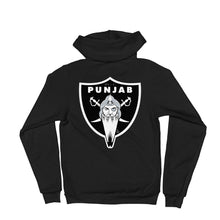 PUNJAB - ICON - CLASSIC ZIP UP HOODIE FRNT & BACK PRINT
