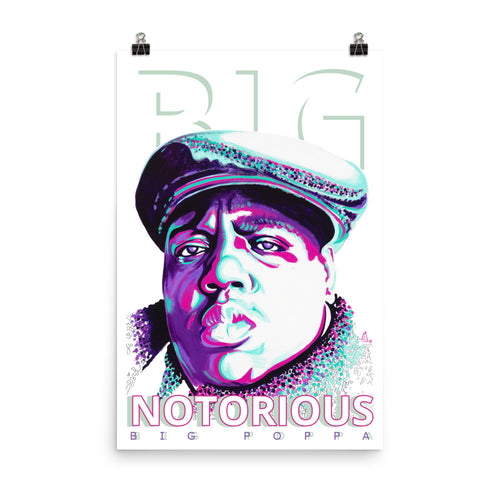 POSTER - NOTORIOUS BIG - FINE ART PAPER