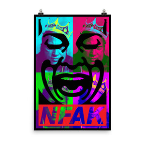 POSTER - NFAK - KING KHAN ICON
