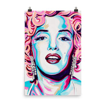POSTER - MARYLIN MONROE - FINE ART PAPER