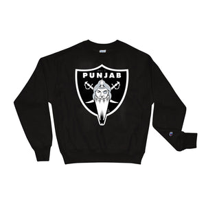 PUNJAB - CHAMPION - BLACK SWEATSHIRT