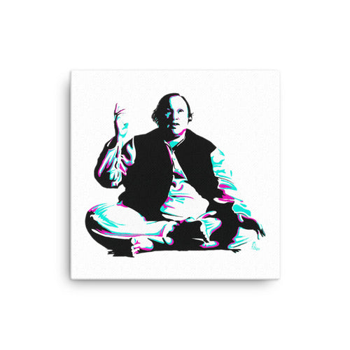 ART - NUSRAT FATEH ALI KHAN - THE LEGEND - CANVAS