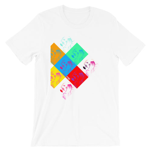 VYBE - MANAK POP ART - WHITE TEE